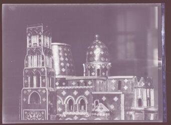GDIn00216; Planfilmnegativ; [Modell der Grabeskirche in Jerusalem], Gehört zum Umschlag 1.21