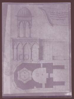 GDIn00219; Planfilmnegativ; [Architektonische Studien], Gehört zum Umschlag 1.21
